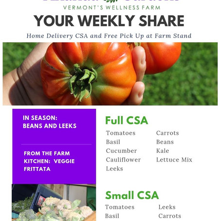 Your CSA: Week 8