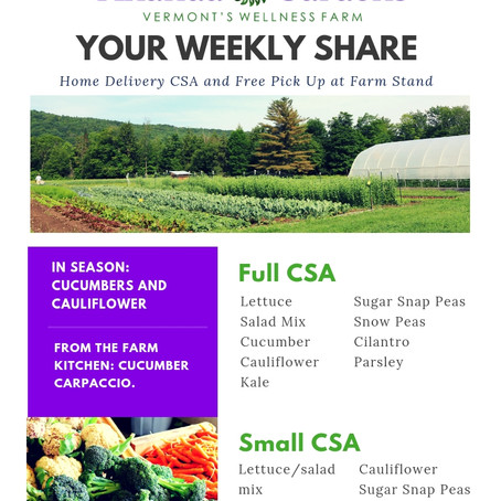 Your CSA: Week 5