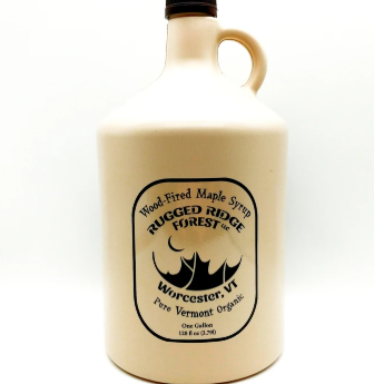 Gallon of Maple Syrup - Wood-Fired and Organic