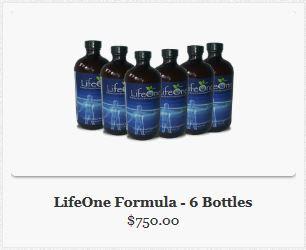 Buy LifeOne Formula-6 Bottles- Free Shipping