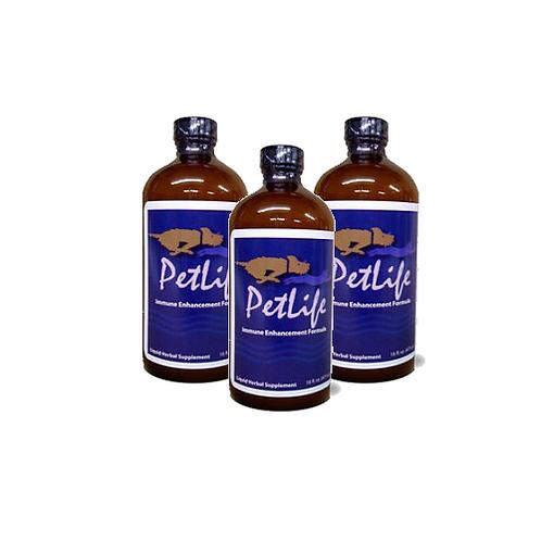 3 Bottles of Petlife