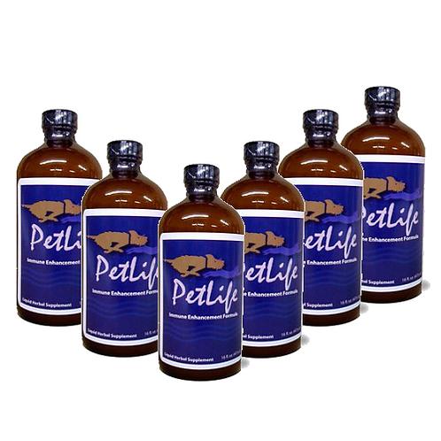 6 Bottles of Petlife