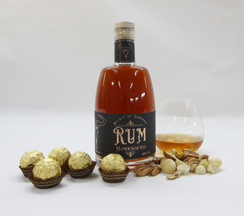 Rum with suggested Pairing