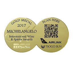 MichelAngelo 2017 Gold Awards.png