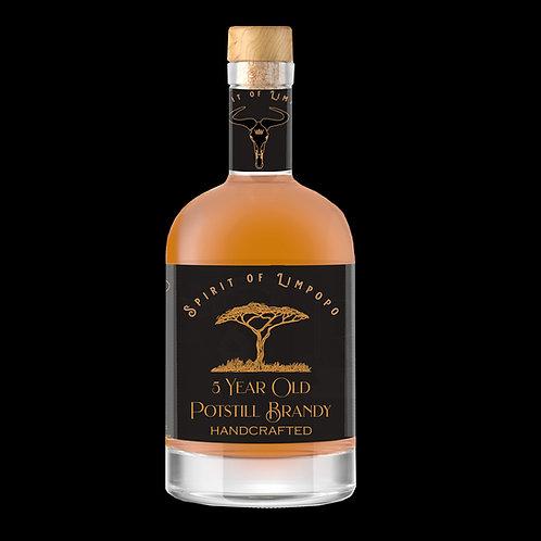 6 x 500ml Case of 5 Year Old Potsill Brandy 500ml