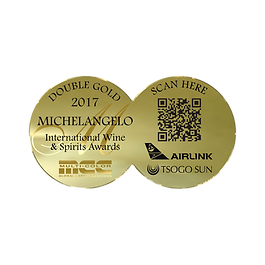 MichelAngelo 2017 Double Gold Awards.png