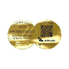 MichelAngelo 2018 Double Gold Awards.png