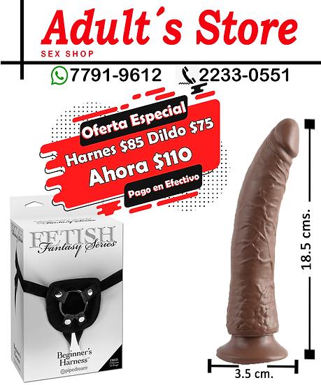 Harnes + Dildo Basix