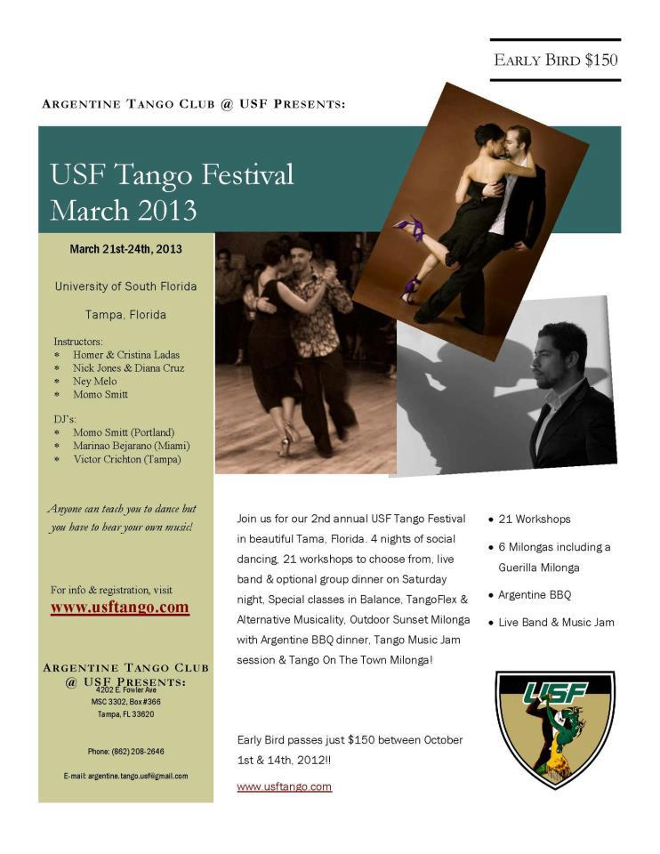 USF Tango Festival