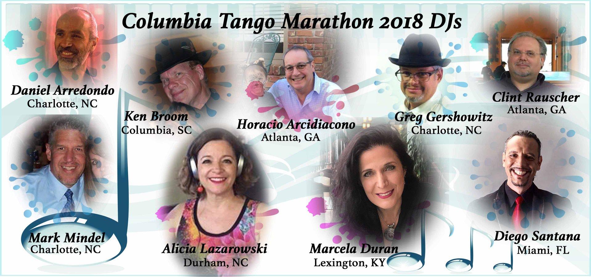 Columbia Tango Marathon 2018