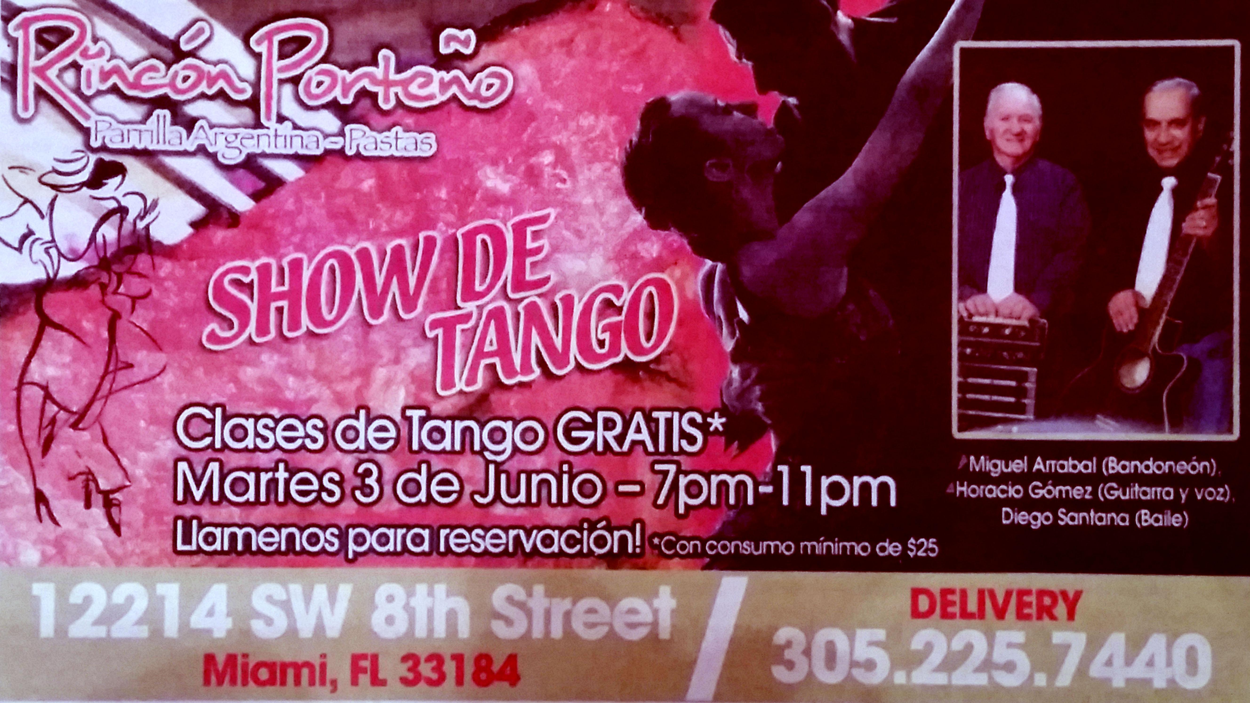 Tango at Rincon Porteño