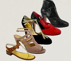 Collezione Panfili di tacchi, mocassini, sandali