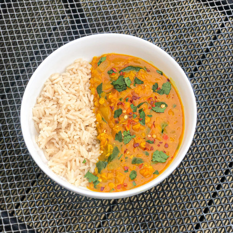 Vegan Red Lentil Dal