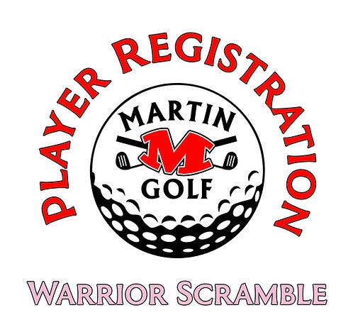 Golf Tournament Player Registration