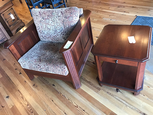 Franchi Chair & End Table