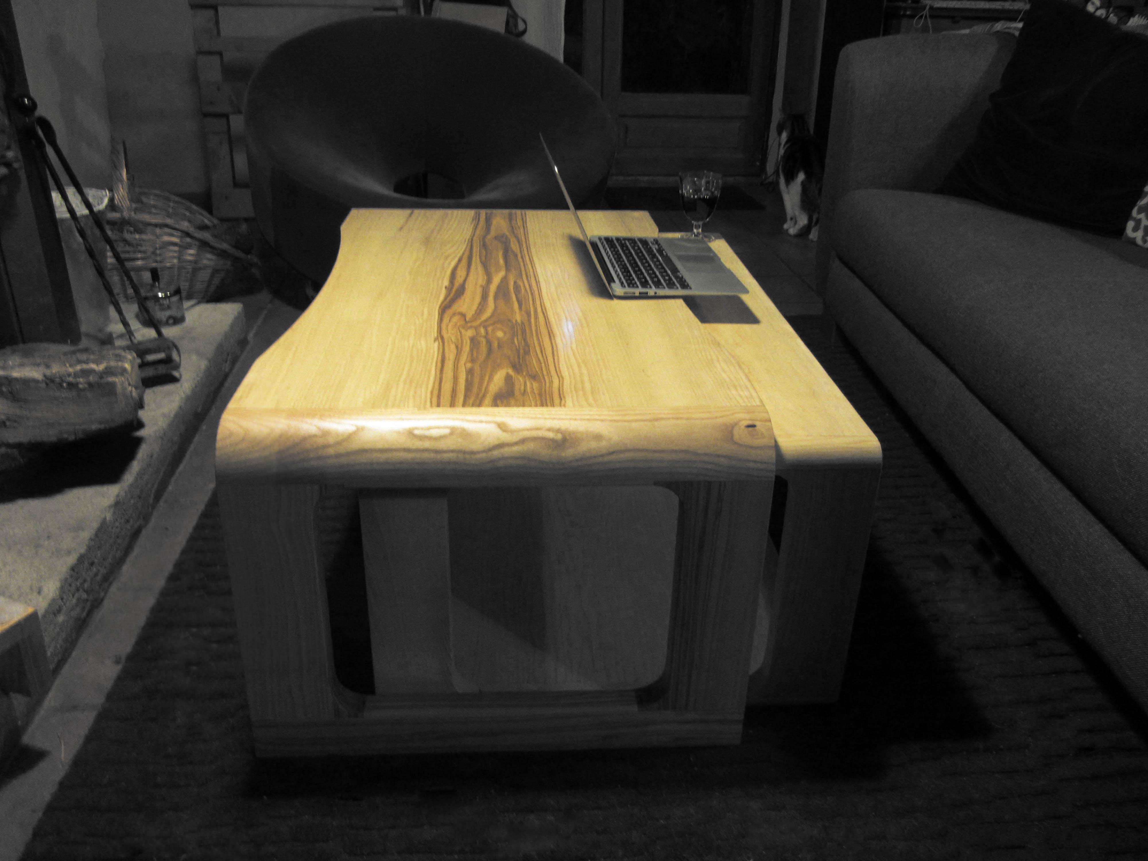 TABLE BASSE GIGOGNE STYLE 60's