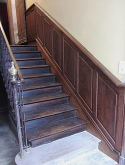 Lambris d'escalier