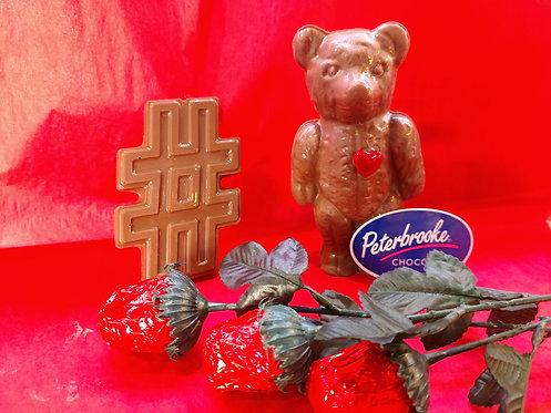 Cocoa The Candy Heart Bear