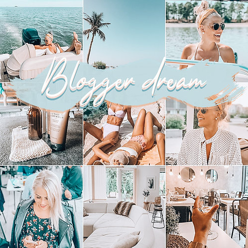 Blogger dream - Preset Pack