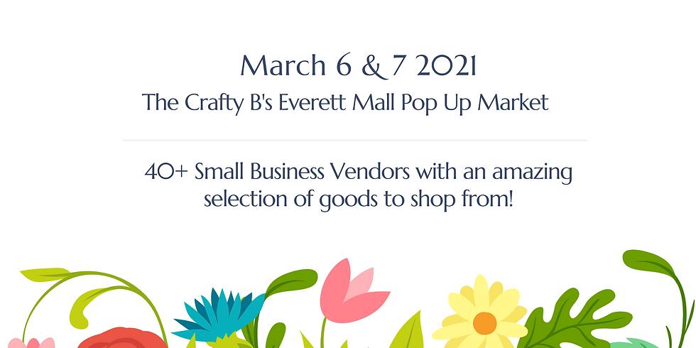 The Crafty B's Everett Mall Indoor Pop Up Market