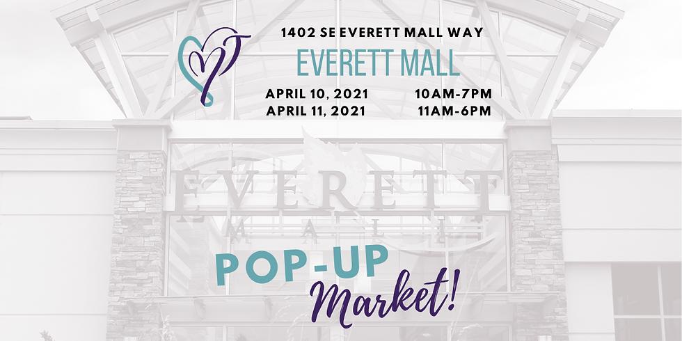The Crafty B's Everett Mall Indoor Pop Up Market April