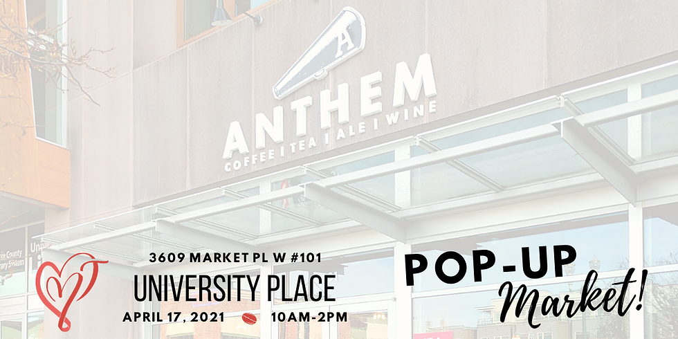 Anthem Coffee and Tea Pop Up Market