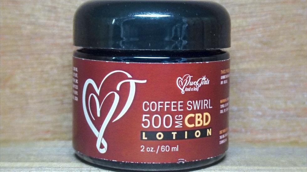 Coffee Swirl CBD Lotion