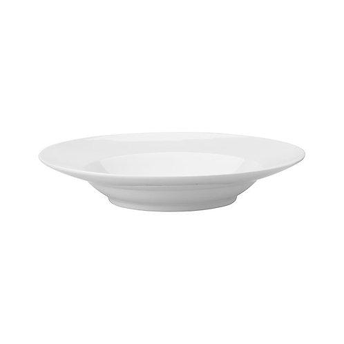 All White Porcelain Pasta Bowl