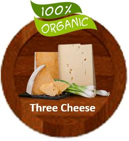 Gourmet Organic Three Cheese Tomato Sauce