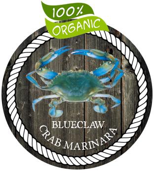 Gourmet Organic Blue Claw Crab Marinara Sauce
