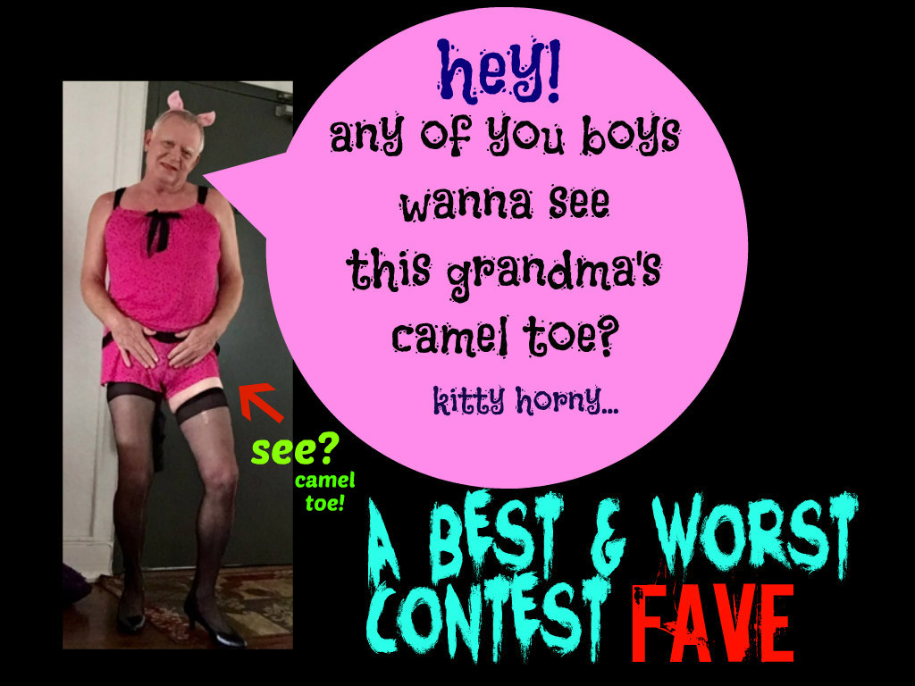 best and worst contest fave camel toe