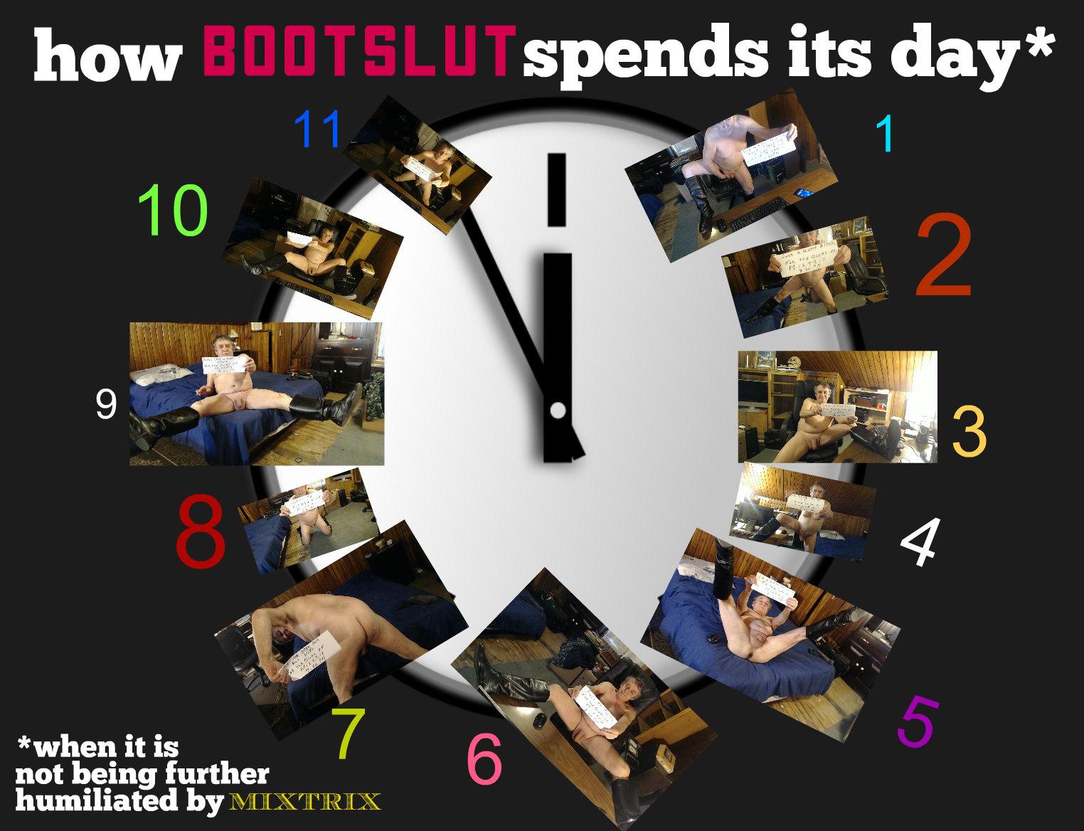 bootslut clock