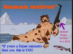 human walrus