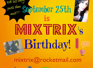 Happy Mixtrix Day!