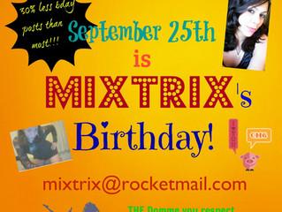 Happy Mixtrix Day!