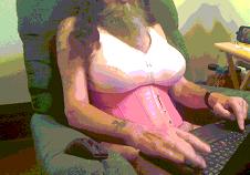 feral sissy in tits