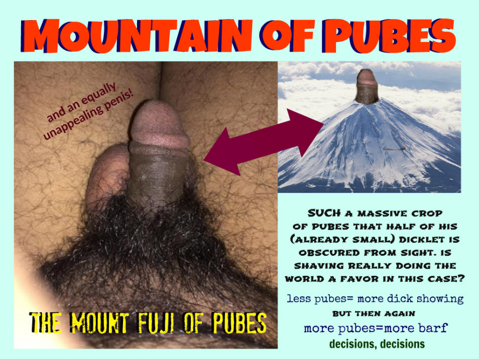 mountain of pubes