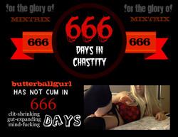 666 days without cumming