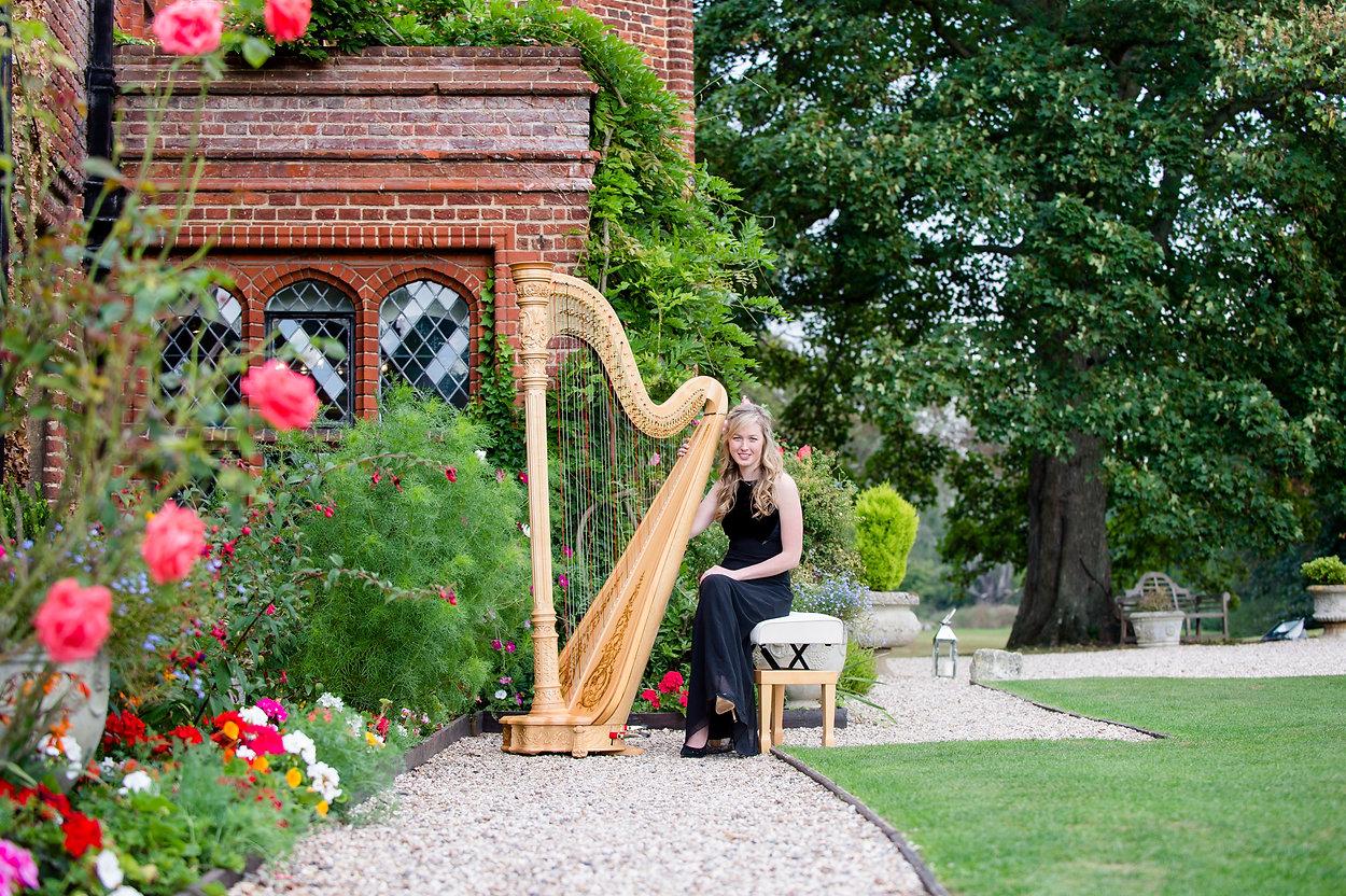 Wedding harpist Essex