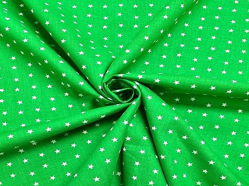 Green Stars - Dog Bandana (Through The Collar) (Collar Not Included)