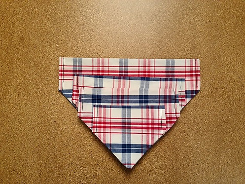 Striped - Dog Bandana (Through The Collar) (Collar Not Included)