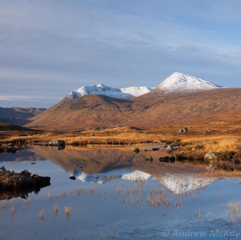 Reflections Lochan na h-Achlaise