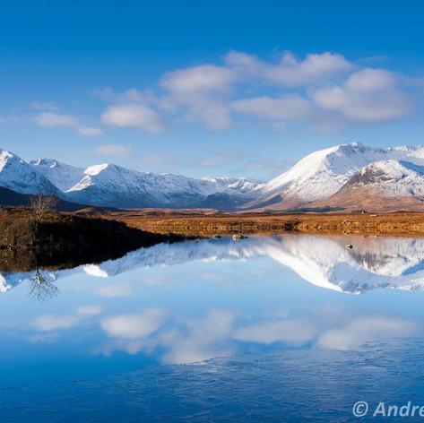 Black Mount Reflections