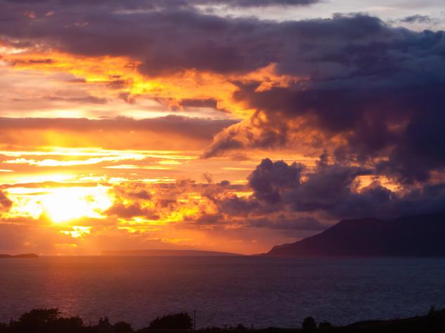Small Isles Sunset