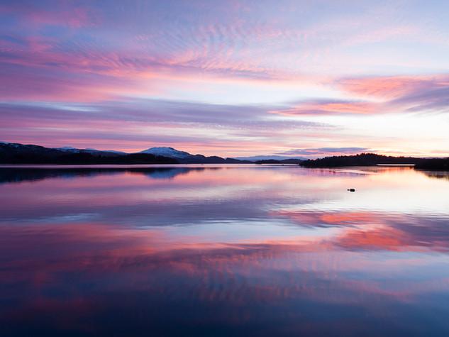 Dawn Reflections, Luss