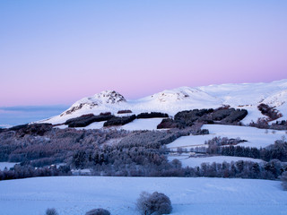 Winter Hills & Belt of Venus