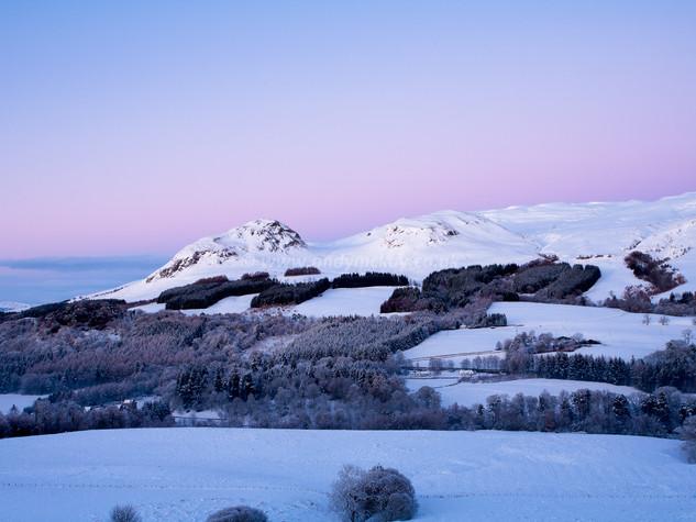 Winter Hills & Belt of Venus