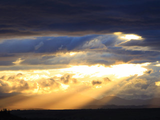 God Beams, Fintry