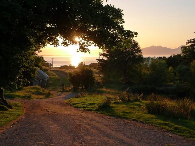 Path to the beach, Kilmory