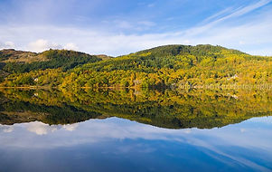 Scottish loch in the Trossachs
